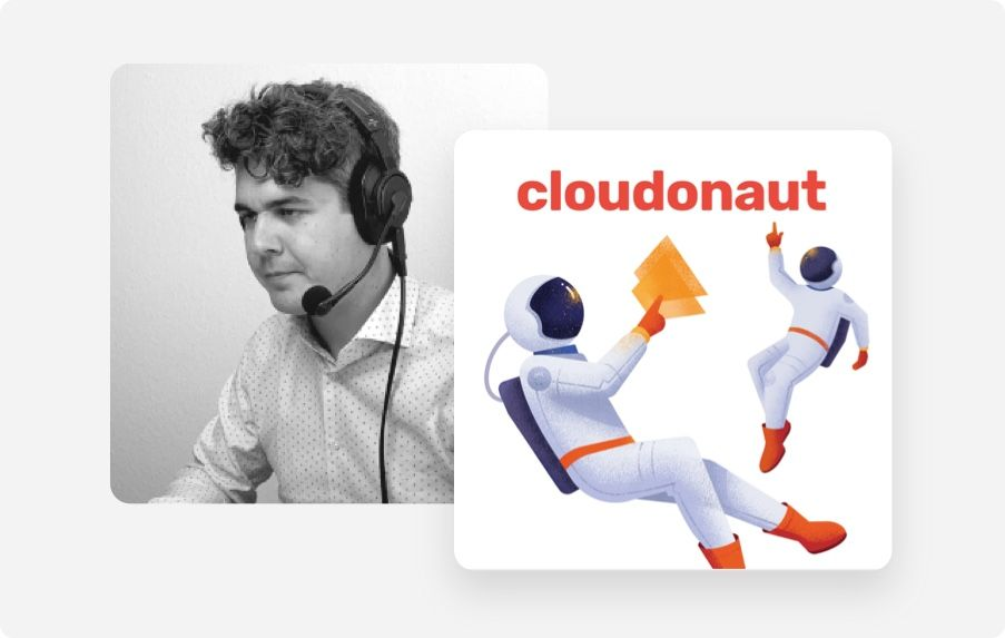 Our podcast: cloudonaut